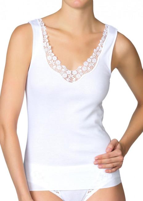 Calida Feminin Sense top XS-XL hvid