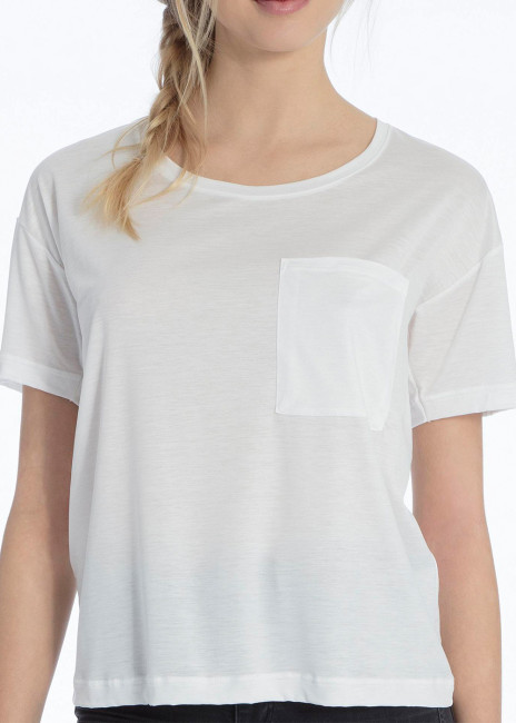 Calida 100% Nature T-shirt XS-M hvid