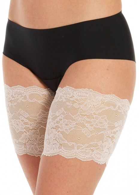 Magic Be Sweet to your Legs Lace bandelette S-4XL hvid