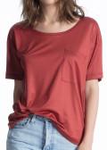 Calida 100% Nature T-shirt XS-M rød