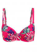 Abecita Palm Beach Bikini Overdel B-F Skål Rosa
