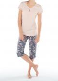 Calida Brighton pyjamas XS-L mønstret