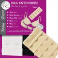 Braza Bra Extenders 3 radig - One Size