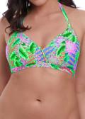 Freya Swim Zamba halterneck Bikinioverdel C-I skål mønstret