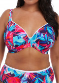 Elomi Swim Paradise Palm bikinioverdel plunge E-L skål multi