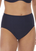 Fantasie Swim Long Island bikiniunderdel med høj talje S-XXL blå