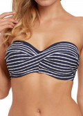 Fantasie Swim San Remo bikinioverdel bandeau D-I skål blå