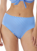 Freya Swim Beach Hut bikiniunderdel højt skåret XS-XXL blå