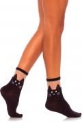 sort Cat Opaque Anklet Socks