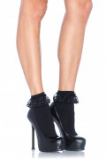 Lace Ruffle Nylon Anklet
