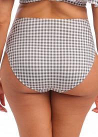 Elomi Swim Checkmate bikiniunderdel med hög midja 40-52 mönstrad
