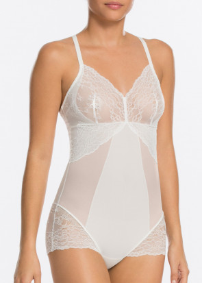 Spanx Spotlight on Lace body S-L hvid
