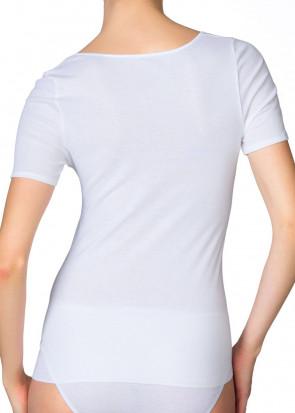 Calida Feminin Sense short-sleeve top XS-XL hvid