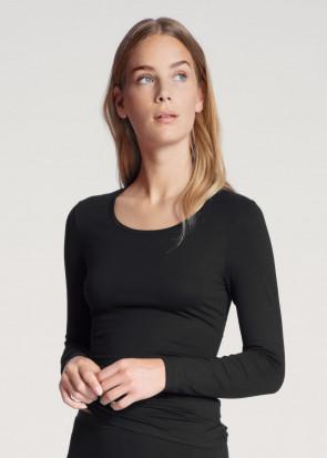 Calida Natural Comfort Top Long sleeve Black