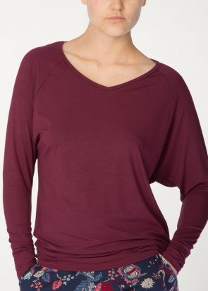 Calida Favourites Trend long-sleeve top XS-XL rød