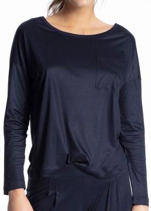 Calida 100% Nature langærmet trøje XXS-M blå