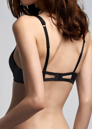 Marlies Dekkers Triangle push-up BH A-F skål sort
