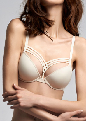 Marlies Dekkers Dame De Paris push-up BH A-F skål ivory