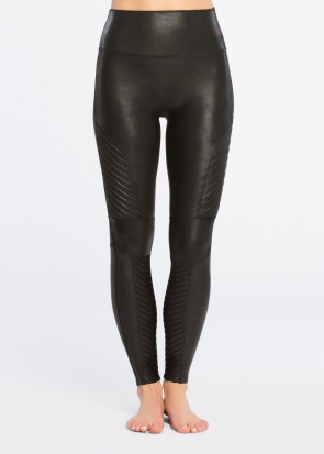 Spanx Moto Leggings XS-XL sort