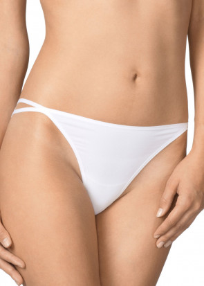 Calida Sensitive tanga trusse XS-L hvid