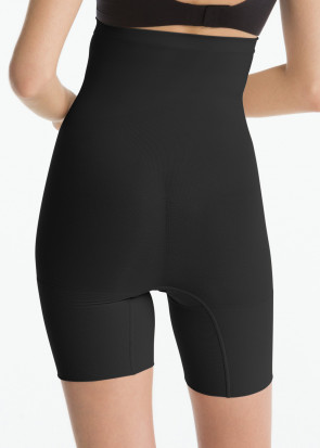 Spanx Power høje shapingshorts S-XXXL sort