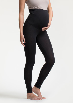 Boob Once On Never Off graviditets leggings XS-XL sort