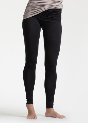 Boob Once On Never Off graviditets leggings XS-XL sort