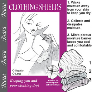 Braza Clothing Shields hvid - One Size