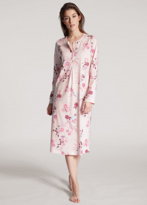 Calida Cosy Cotton Nights Nightdress XS-XL rosa