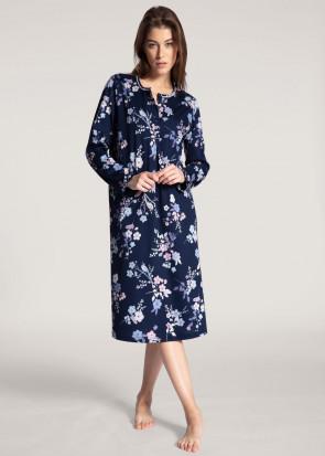 Calida Cosy Cotton Nights Nightdress XS-XL Dark Blue