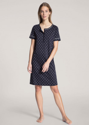 Calida Night Lovers Sleepshirt XXS-L blå