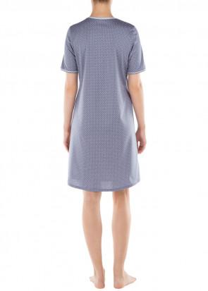 Calida Torino nattskjorta XS-XL blå