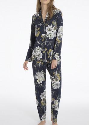 Calida Dalia Pyjamas XS-L mörkblå