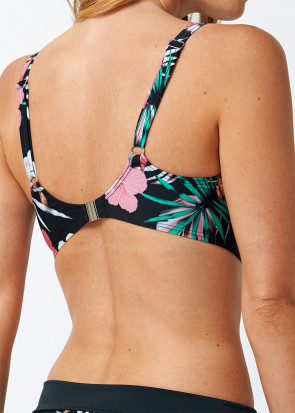 Abecita Palm Beach Bikini Top B-F skål Sort