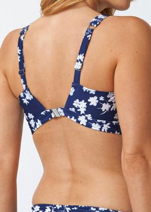 Abecita Blue Flower Kanters Delight Bikini Top B/C-D/E skål Navy