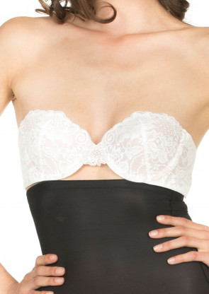 Magic Wing Bra Lace stropløs BH A-D skål ivory