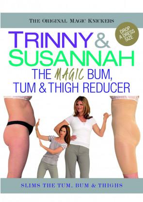 Trinny & Susannah Magic Knickers høj trusse med ben S-XXL sort