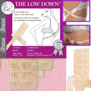 Braza Low Down Beige - One Size
