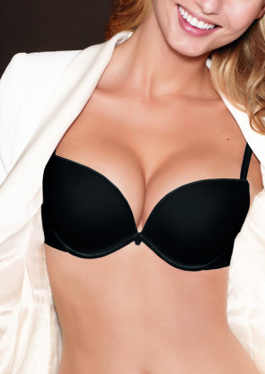 Wonderbra Full Effect push-up bh A-D kupa svart