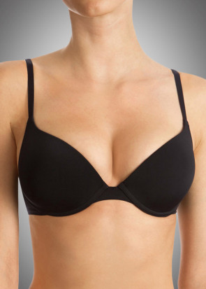 Wonderbra T-shirt bra A-I skål sort