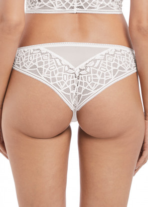Freya Soiree Lace Brasiliansk String trusse XS-XL Sort