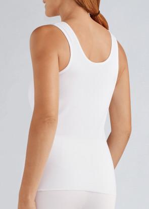 Amoena Michelle postoperativ kjole XS-XXL hvid