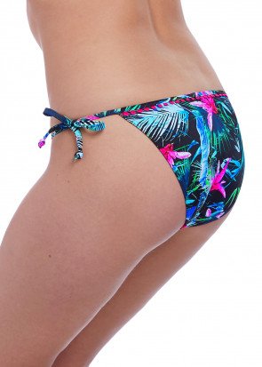 Freya Swim Jungle Flower bikiniunderdel knyttes XS-XL mønstret