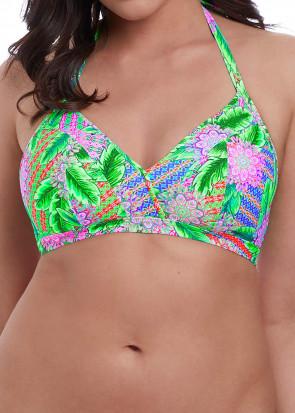 Freya Swim Zamba halterneck Bikiniöverdel C-I kupa mönstrad