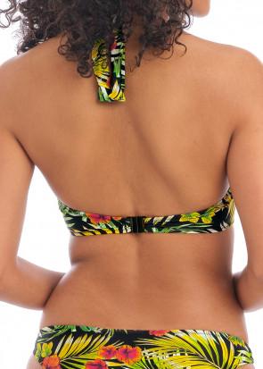 Freya Swim Maui Daze bikiniöverdel halterneck D-K kupa mönstrad