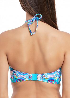 Freya Swim New Native Bandeau Bikini Overdel C-I skål mønstret