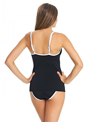 Freya Back To Black Formstøbt Tankini C-J Skål Sort