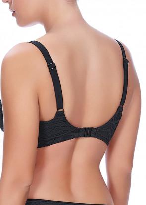 Freya Swim Sundance vatteret bikini top D-L skåle sort