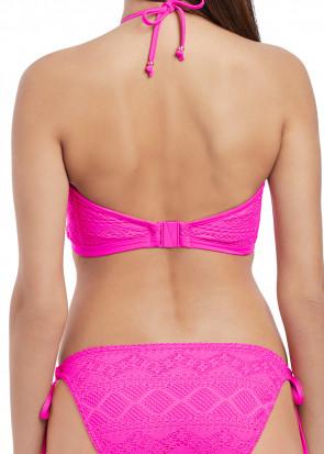Freya Swim Sundance Hæklet Vatteret BikiniTopp D-I skål Lyserød