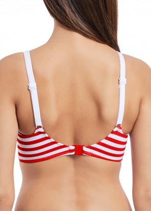 Freya Swim Drift Away bikiniöverdel vadderad D-L kupa mönstrad